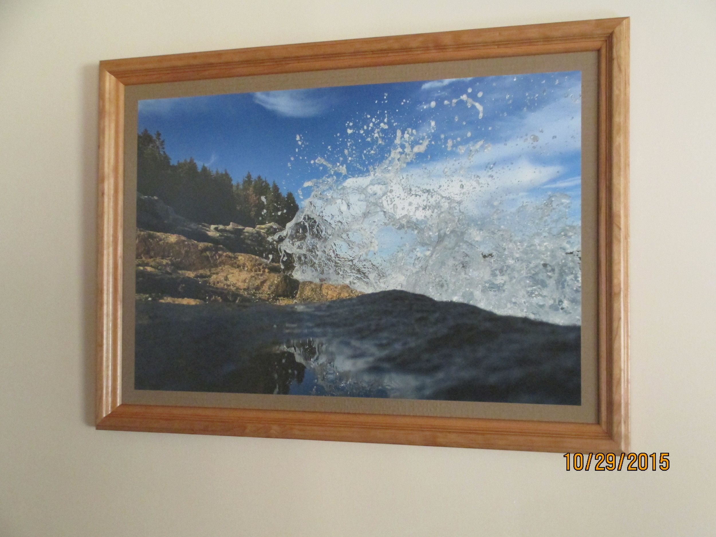 Final Man of Ocean in Hand Crafted Frame by Damon