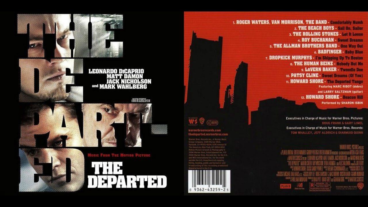 """Dropkick Murphy's were on the soundrack to the movie """"The Departed""""."""