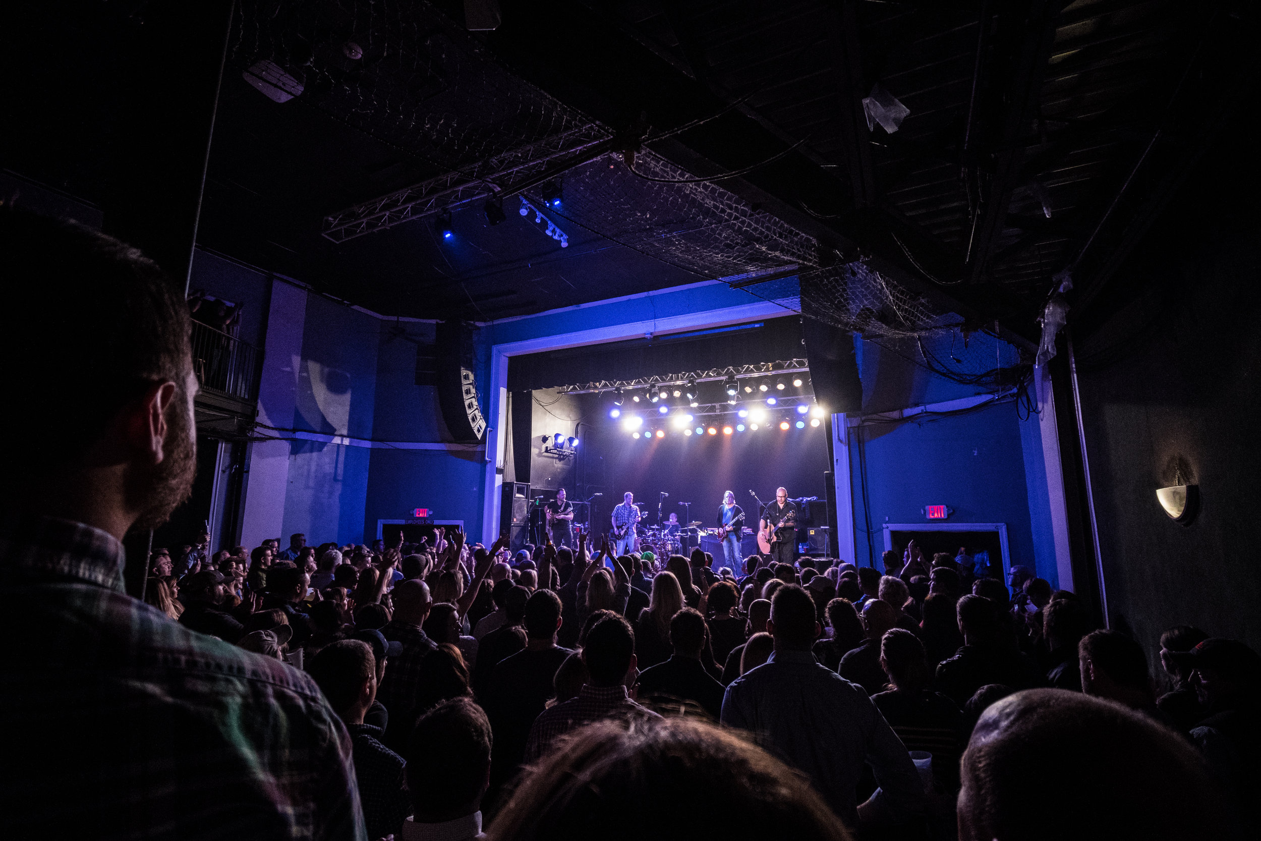 Sister Hazel | Lincoln Theater Raleigh NC | Photograph by Chris Sturk