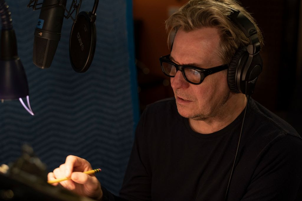 Gary Oldman recording the narration for David Bowie is by Hideo Oida