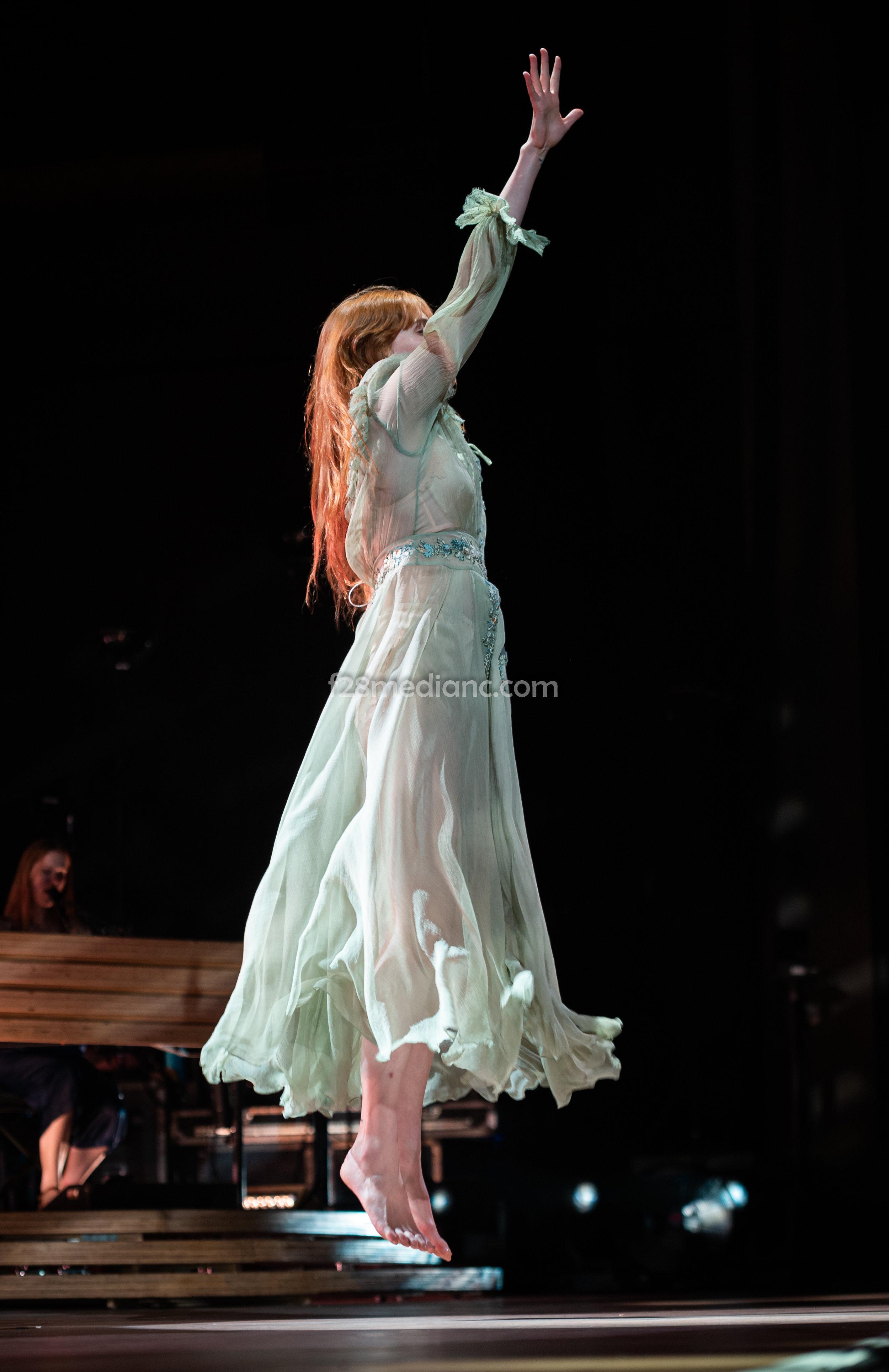 Florence Welch photo credit Chris Sturk