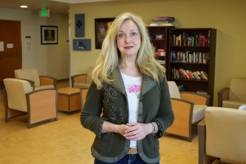 Peer Support Specialist Ashleigh Brenton from Multnomah County CATC. Photo by Benjamin Brink/ The Oregonian .