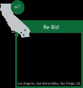 CORE  Los angeles ,  San Bernardino , and  San Diego