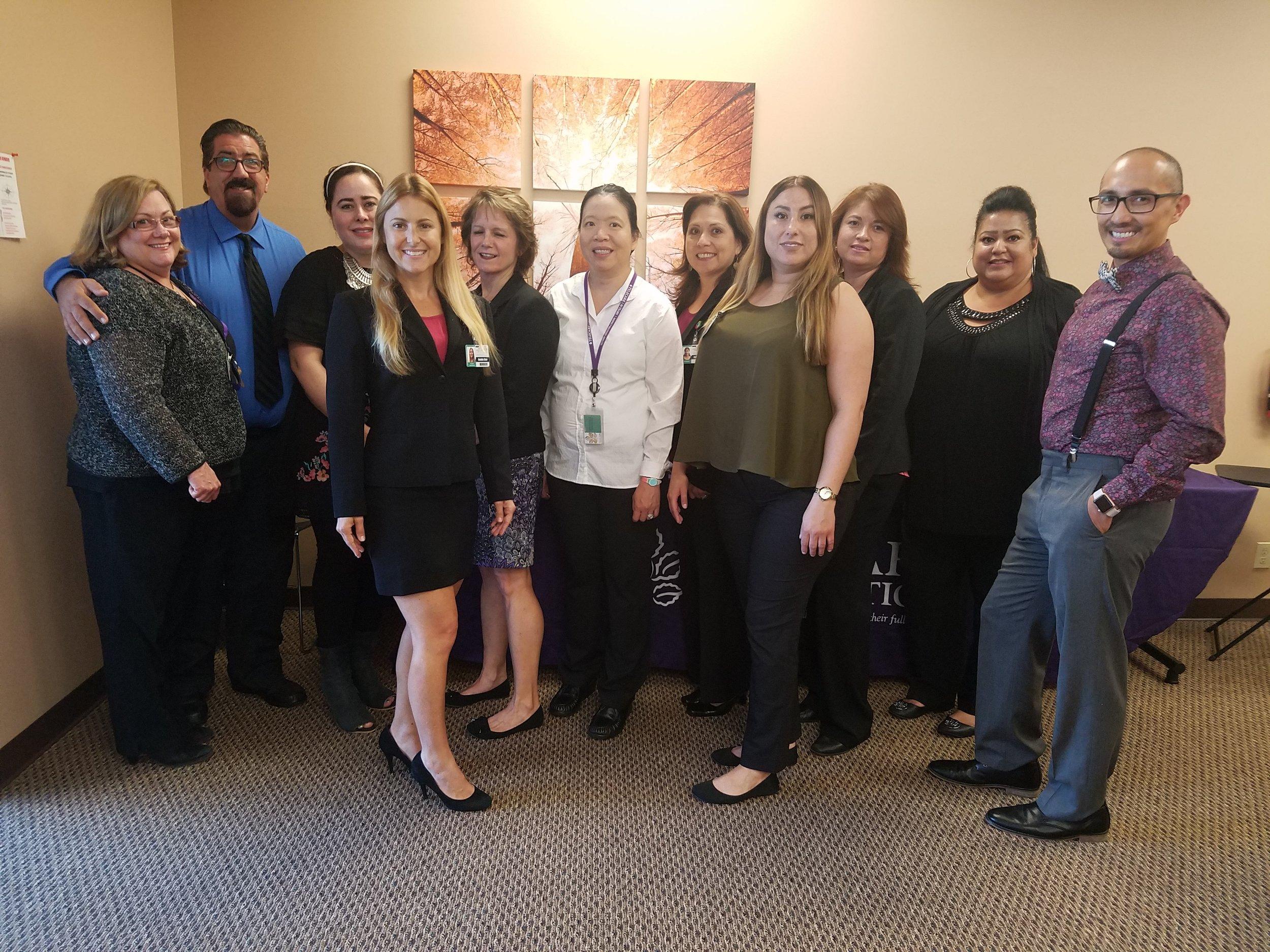 San Diego AOT Staff
