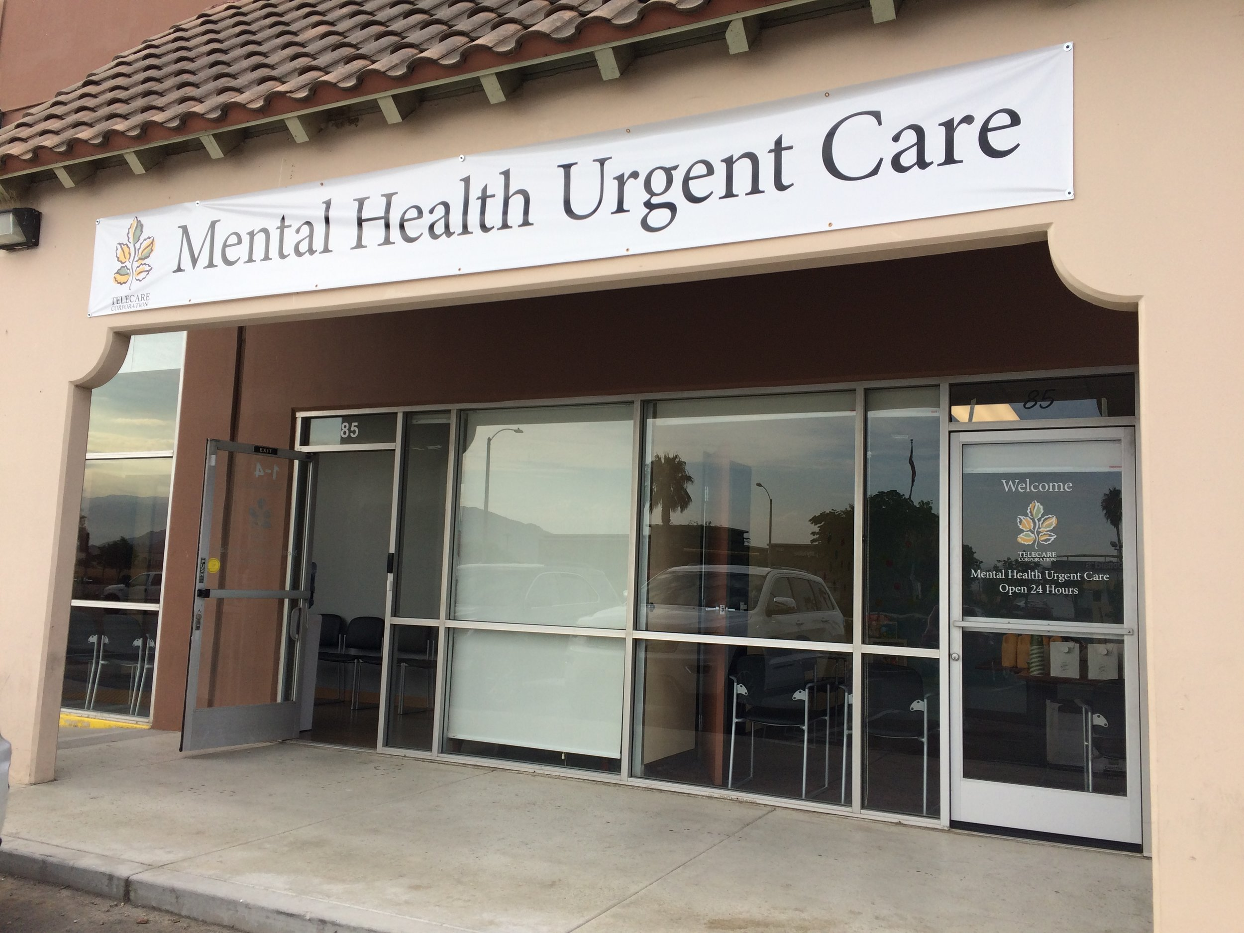 Mental Health Urgent Care-Perris — Telecare