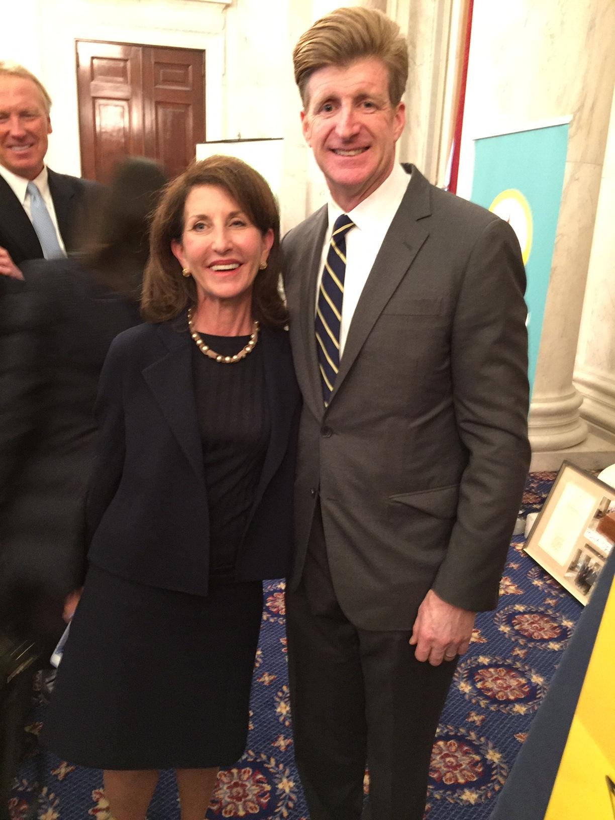 Anne with Patrick Kennedy.JPG