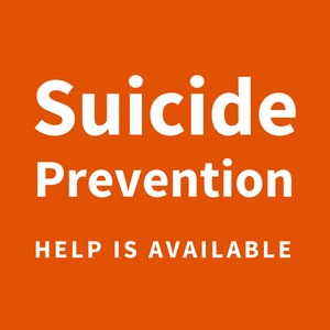 Click the image above for a list of suicide prevention resources and support.