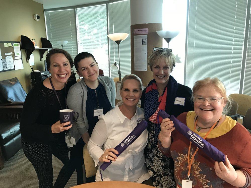 Lisa Klavans; Shayne Hanson; Jennifer Hinkel; Linda Reese; Karen Gilkison