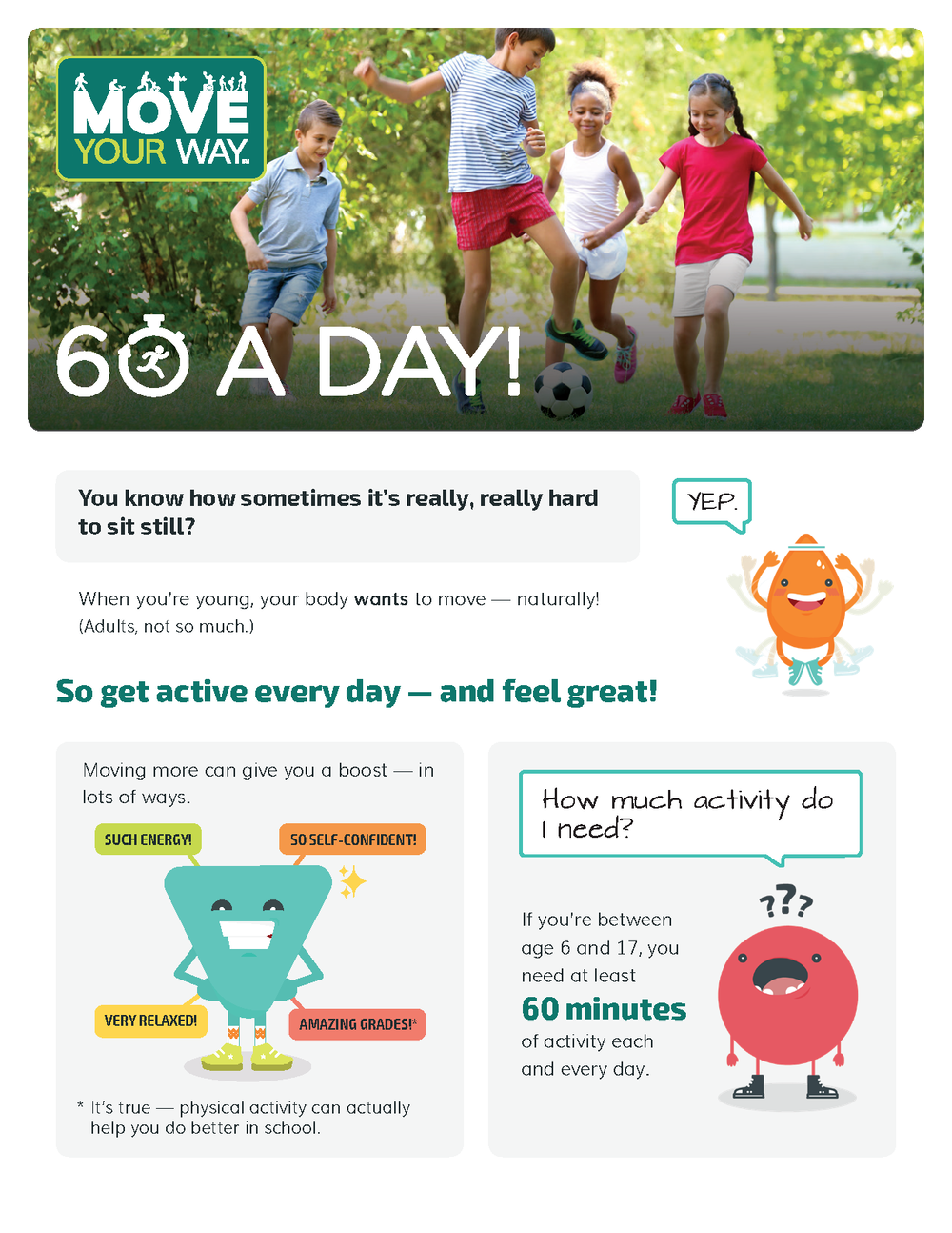 fact sheet to share with kids