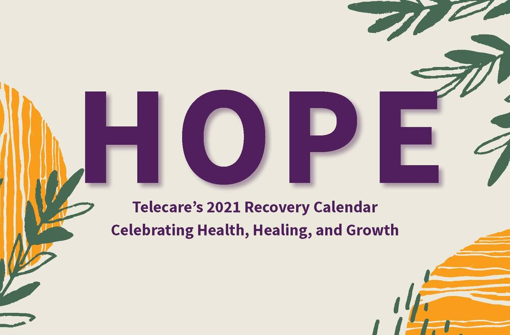 Click the image above to view/download a pdf of the recovery calendar!