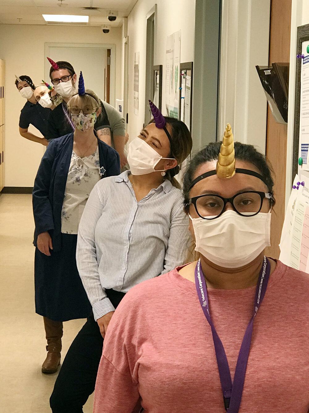 Staff at Thurston mason crisis triage bring fun to their unit.