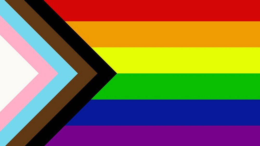 PROGRESS FLAG DESIGNED IN 2018 BY DANIEL QUASAR
