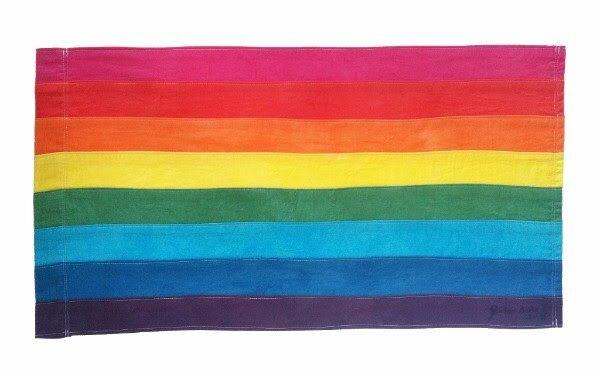 Original LGBT Flag colors from 1978