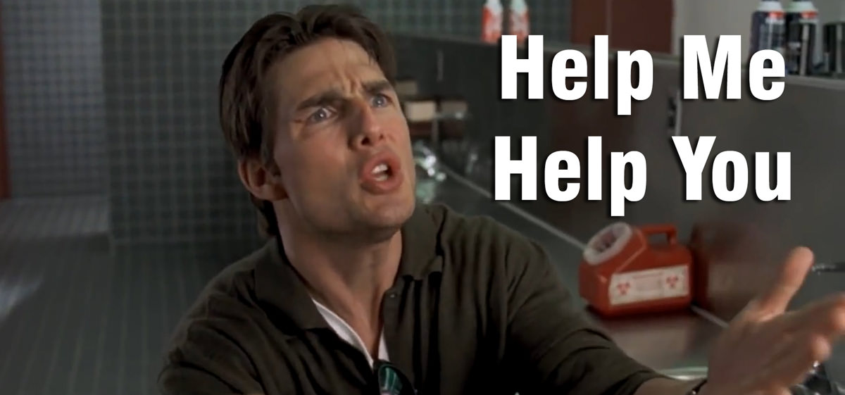 Not the first time I've included a Jerry Maguire meme on my blog