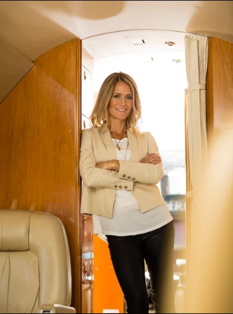 Steffany Kisling, Corporate Flight Attendant and Trainer