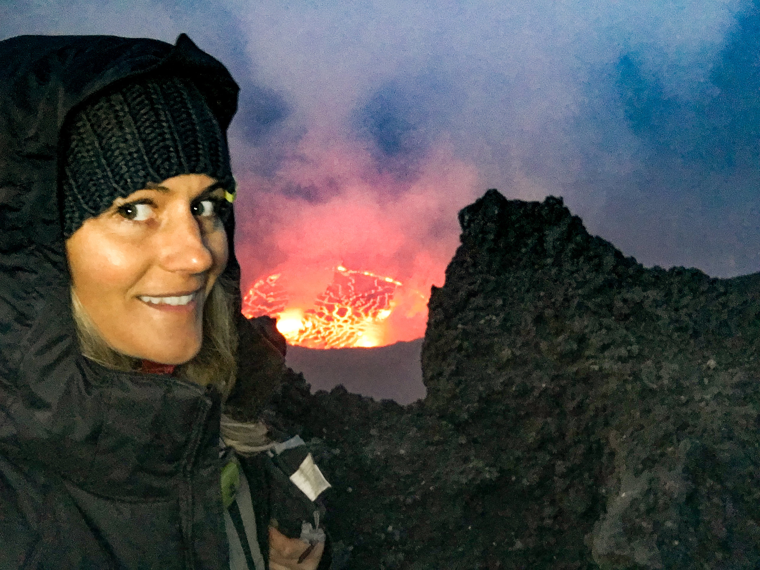 Nyrigongo Volcano