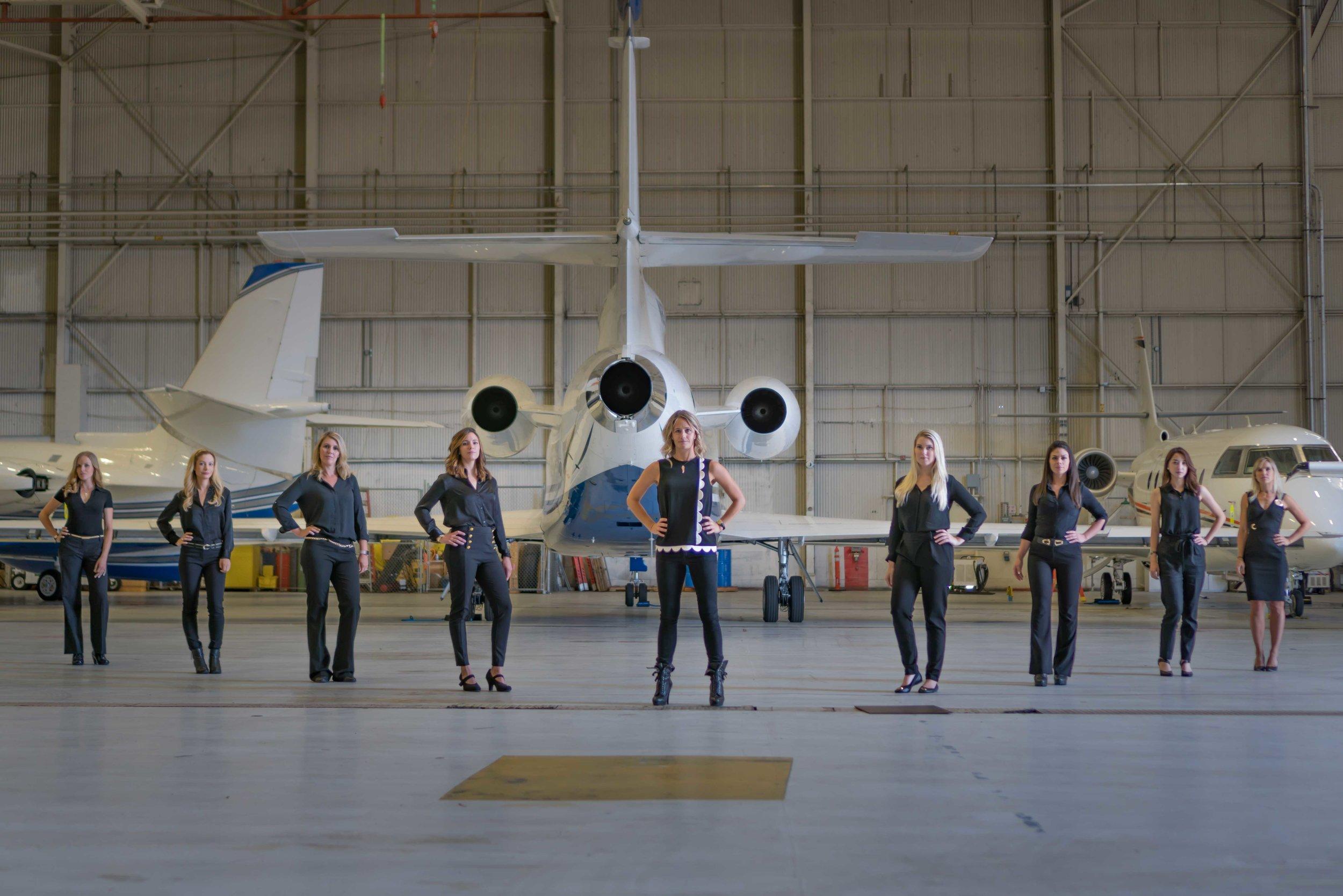 Find Flight Attendants and Pilots