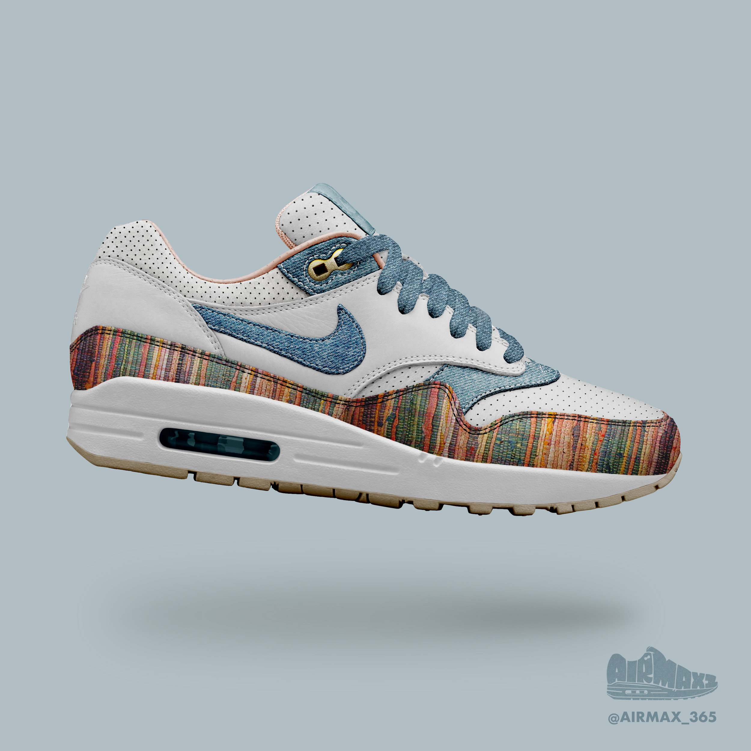 Day 309: Air Max 1 Spectrum Knit