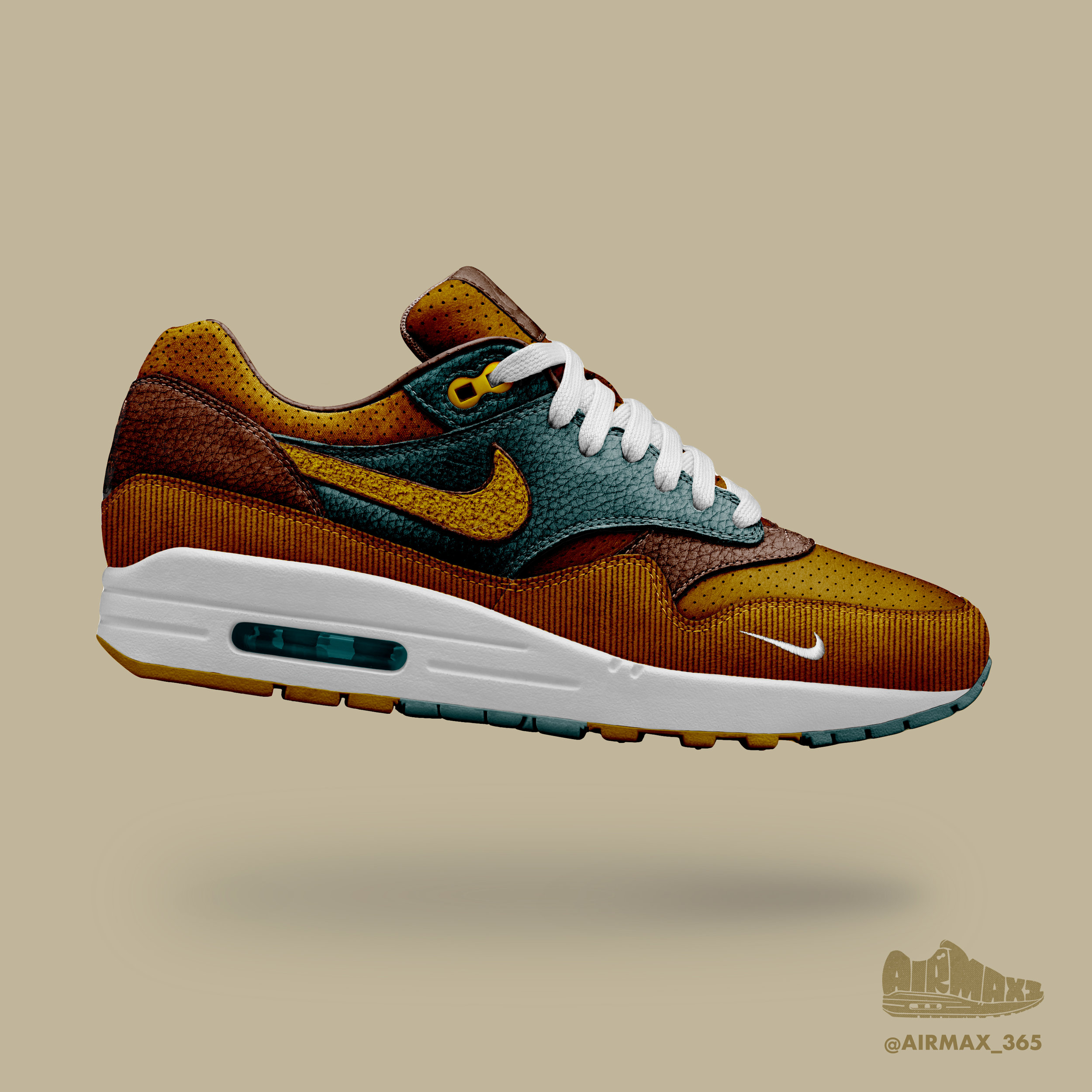 Day 304: Air Max 1 Russet
