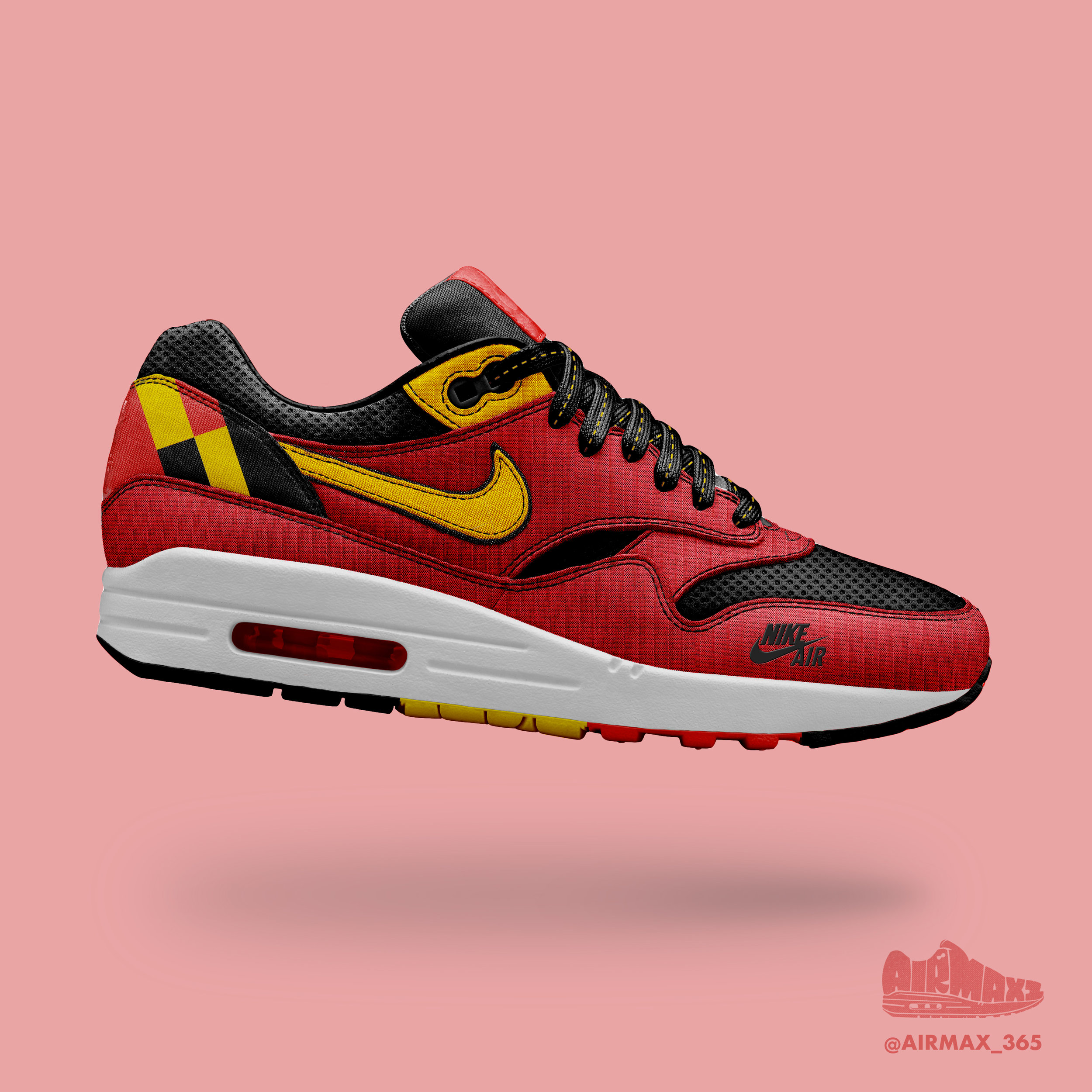 Day 291: Air Max 1 Red Devil