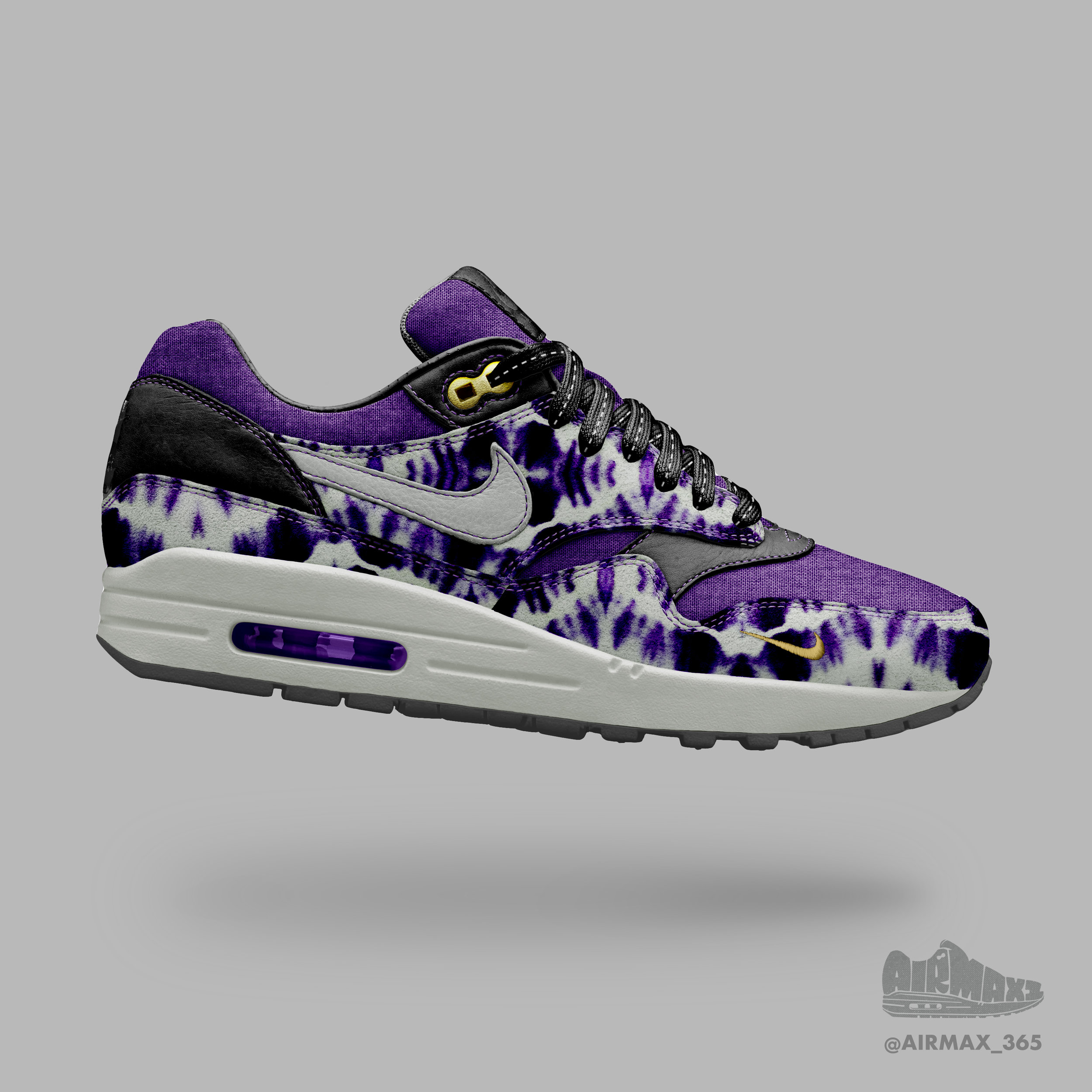 Day 220: Air Max 1 Violet Haze