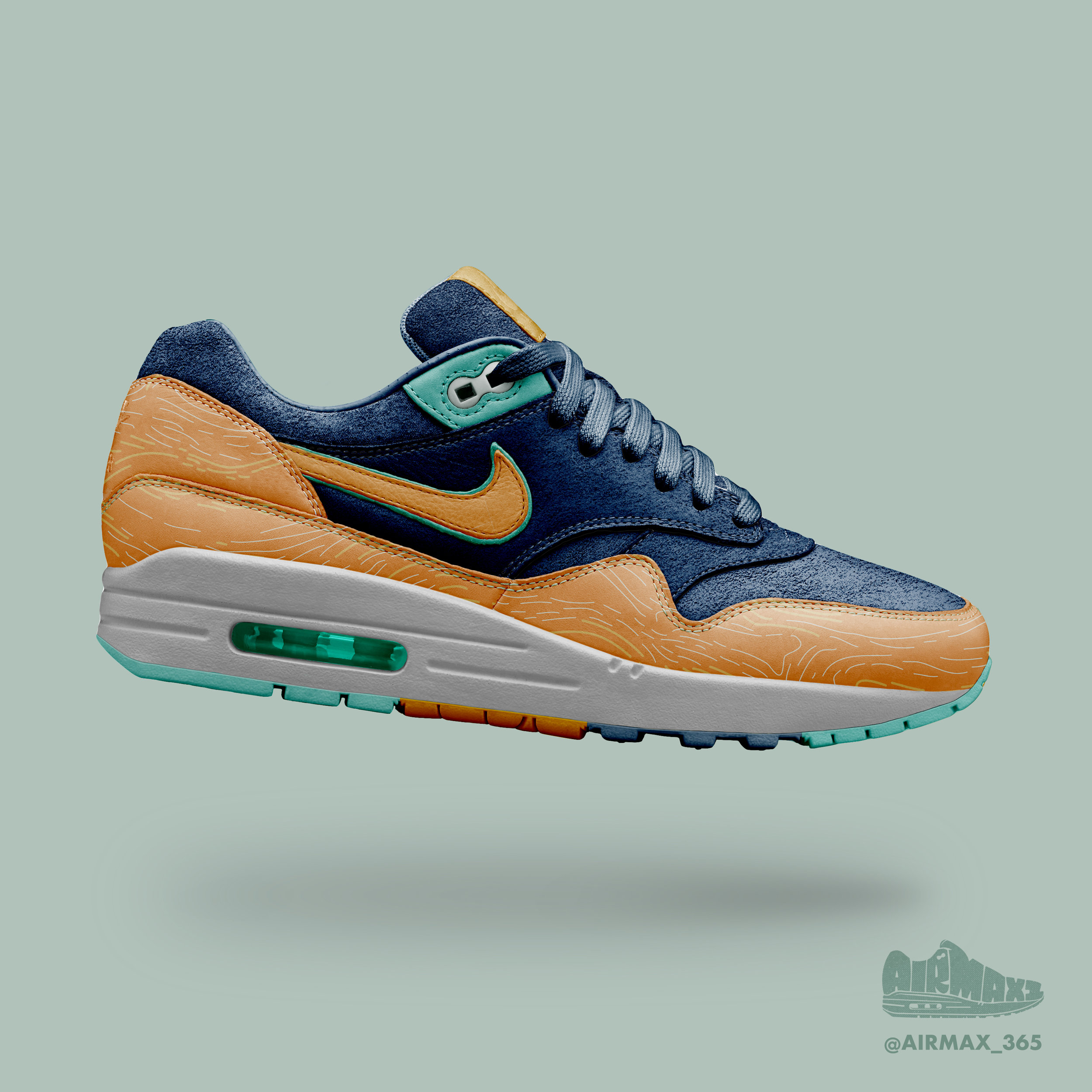 Day 218: Air Max 1 Oyster