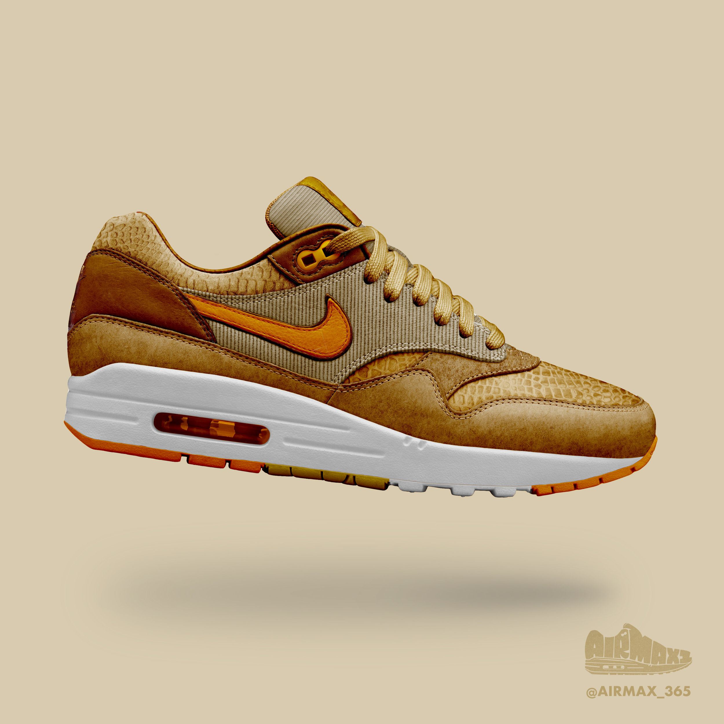 Day 216: Air Max 1 Ginger