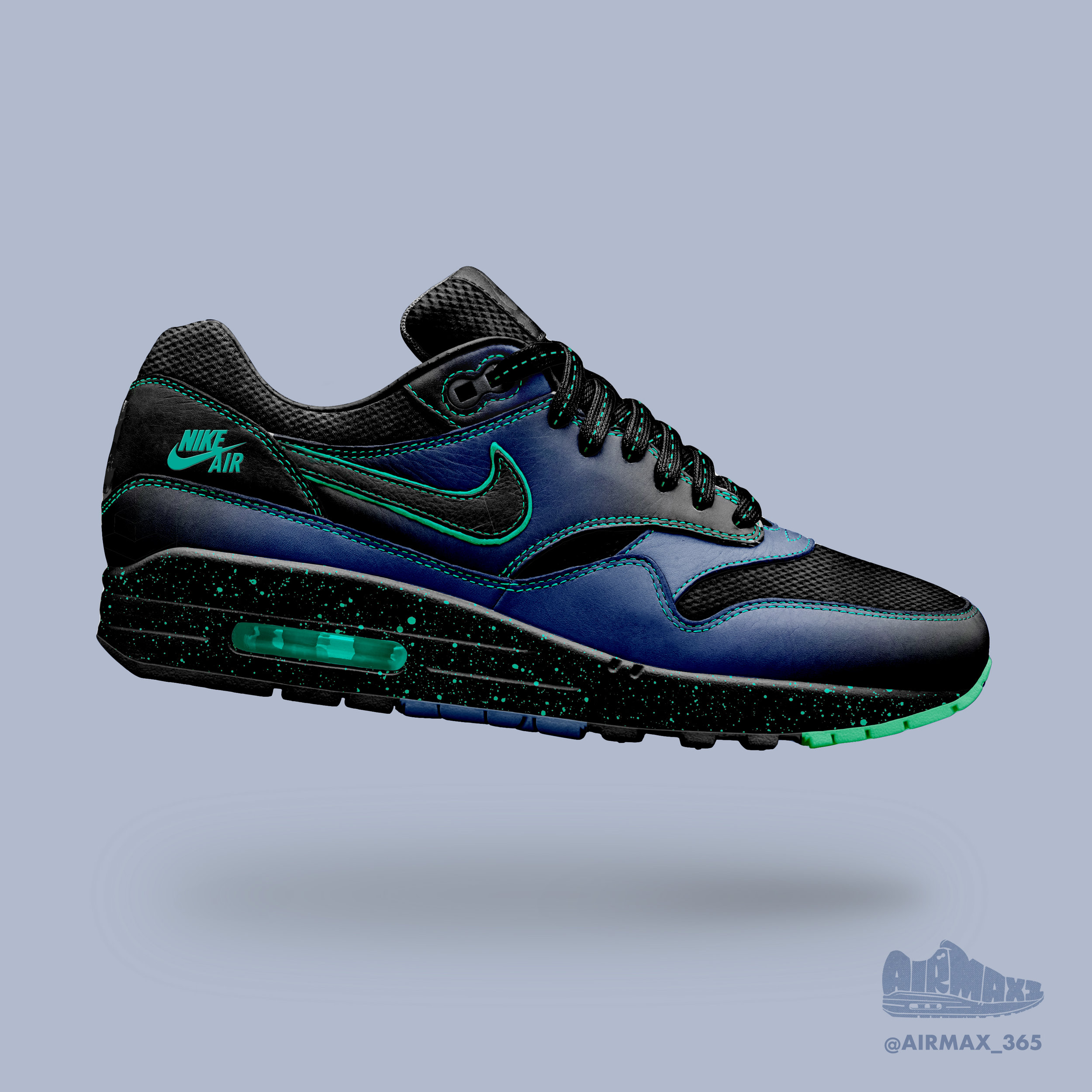 Day 215: Air Max 1 Electric Feel