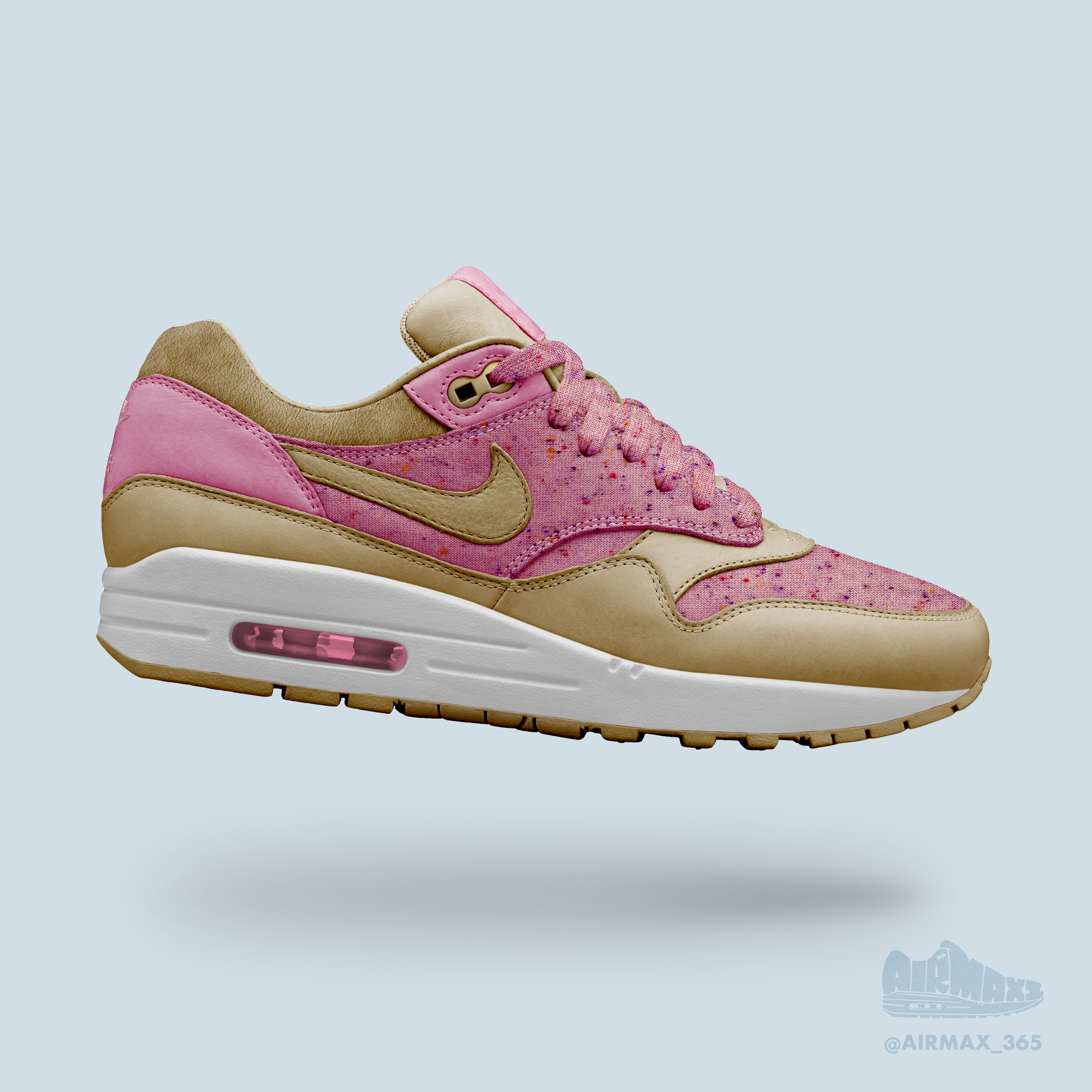 Day 197: Air Max 1 Sprinkle Donut