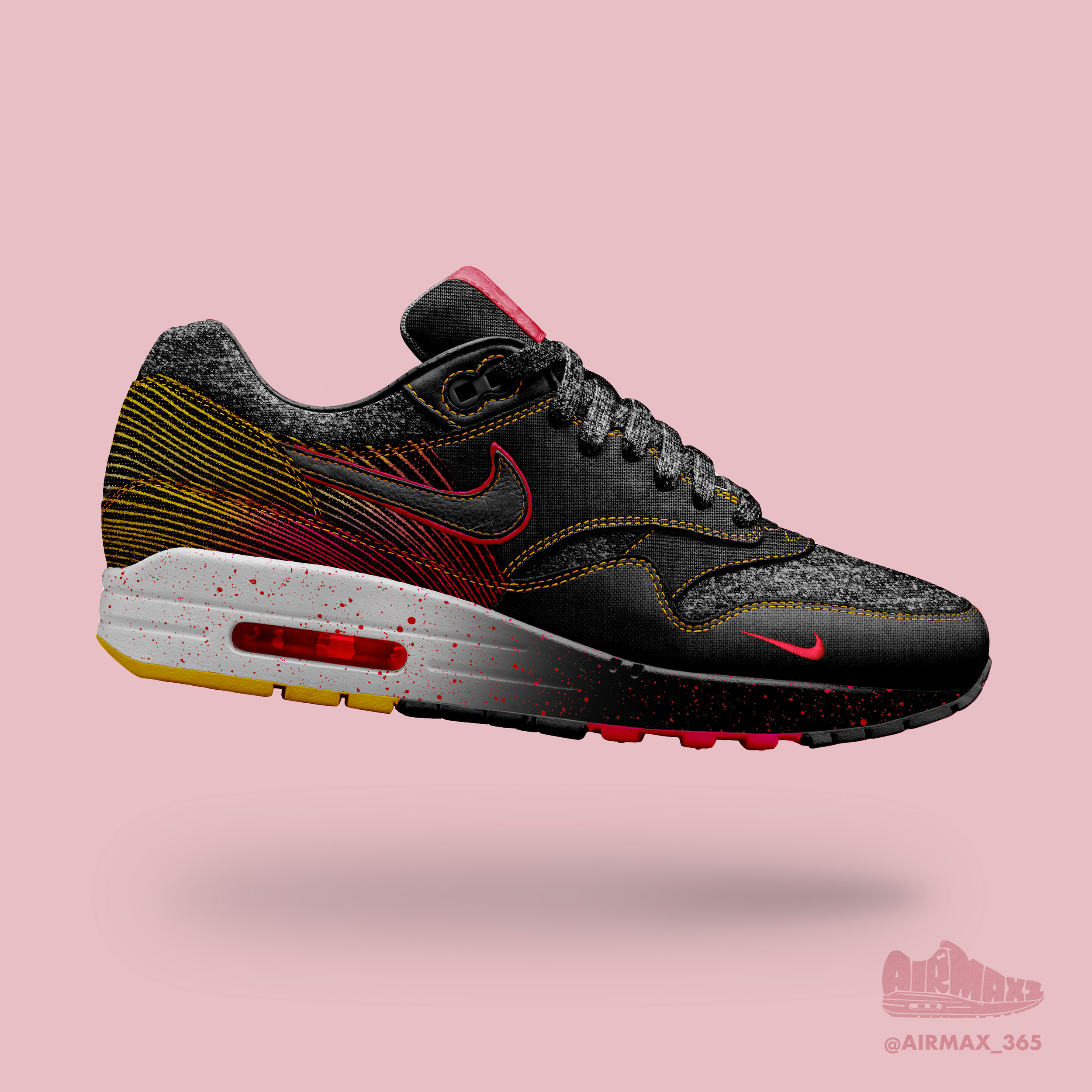 Day 190: Air Max 1 Glow Wave