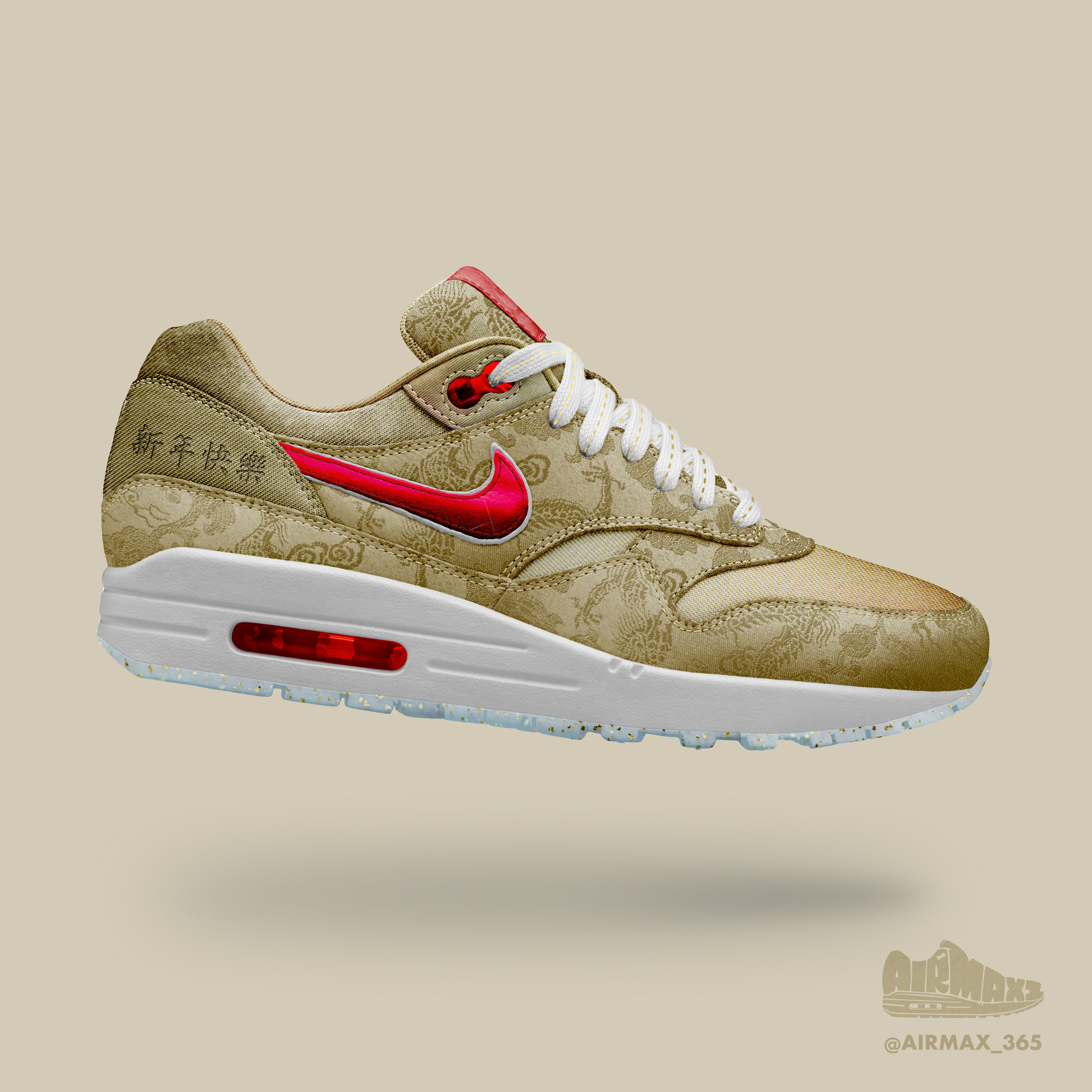 Day 189: Air Max 1 Chinese New Year