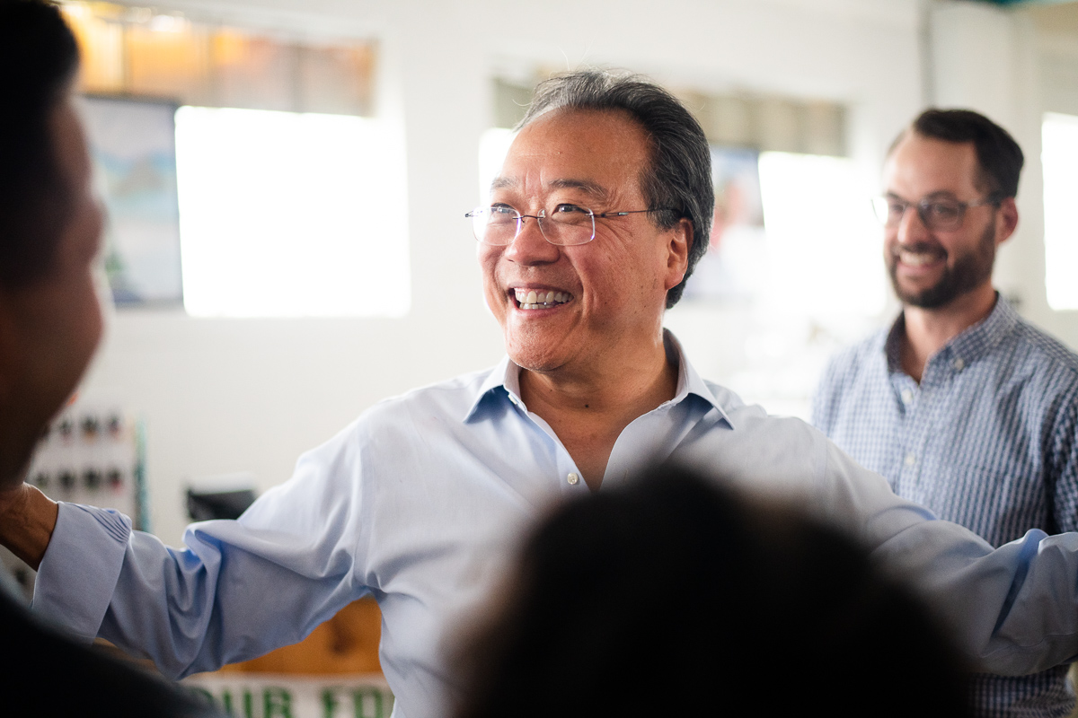 yo-yo ma in Denver