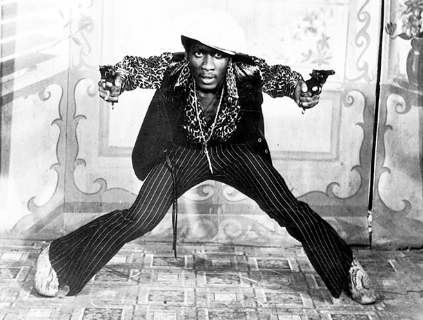 Jimmy Cliff as Ivanhoe Martin lead role in 'Harder they come' 1972 film directed and produced by Perry Henzel