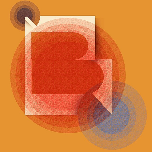 B unique. B bold. B brave. Work in progress for an Art Deco stationary set #b #type #type365 #thedailytype #thedesigntip #lettering #art #art365 #artanddesign #design #digitalart #handmadefont #graphicdesign #ilovemyjob #instaart #artdeco #color #font #stationary #alphabet #wip #productdesign #ilovemyjob #illustration