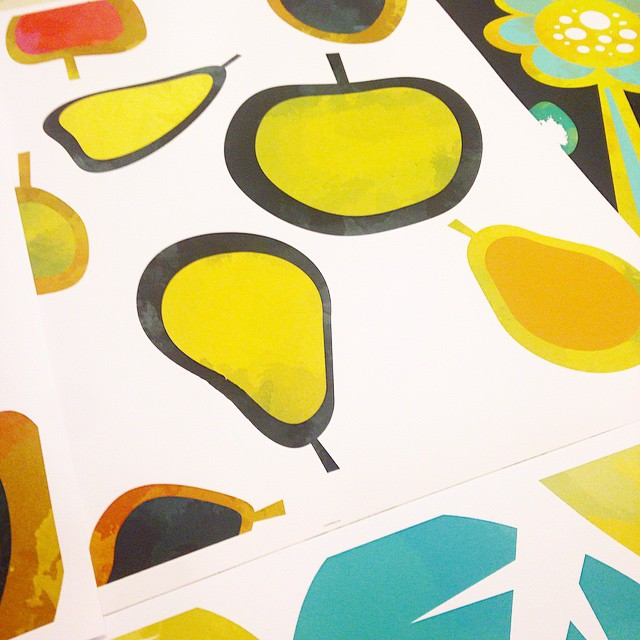 Developing The Very Hungry Caterpillar inspired textile patterns (part 1 of 3)!! #wip #ilovemyjob #instaart #pattern #textile #design #graphicdesign #illustration #ilovemyjob #art365 #artofinstagram #art #artanddesign #childrensbooks #kidsart #conceptart #productdesign #watercolor #thedesigntip