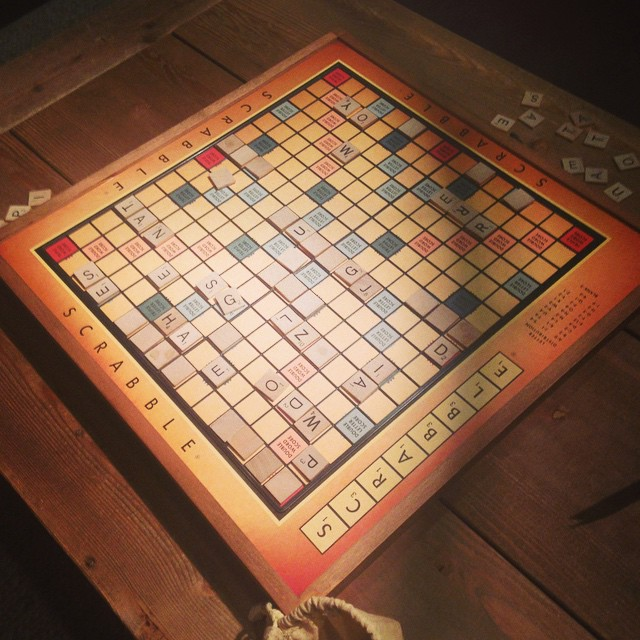 Anyone want to spot me $200 for this oversized vintage scrabble board? #DC