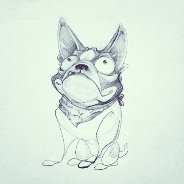 Pupppaaaaayyyyy! #characterdesign #illustration #ilovemyjob #conceptart #puppy #pencil #sketch365 #sketch4life #sketchoftheday #design #art #artanddesign #childrensbooks #doodle #dailysketch #animaldesign #thedesigntip