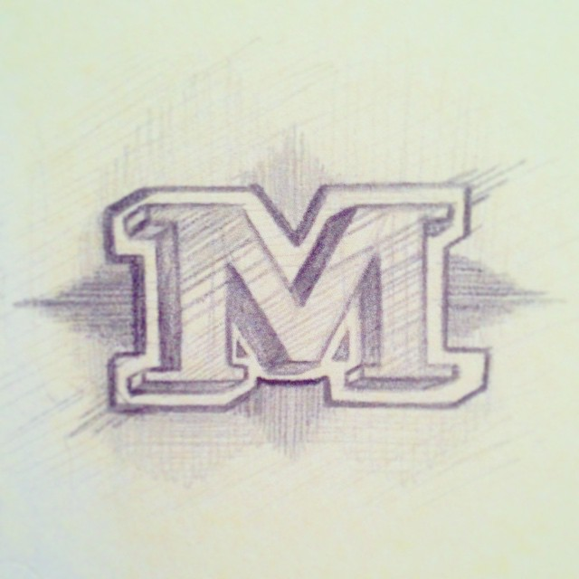 M is for Mollie Makin' Moves 💃 @thedailytype #type #type365 #typeaddict #typography #thedailytype #thedesigntip #lettering #serif #GratuitousType #graphicdesign #art #ArtofType #artanddesign #design #handdrawntype #freehand #conceptart #pencil #sketch365 #sketchoftheday