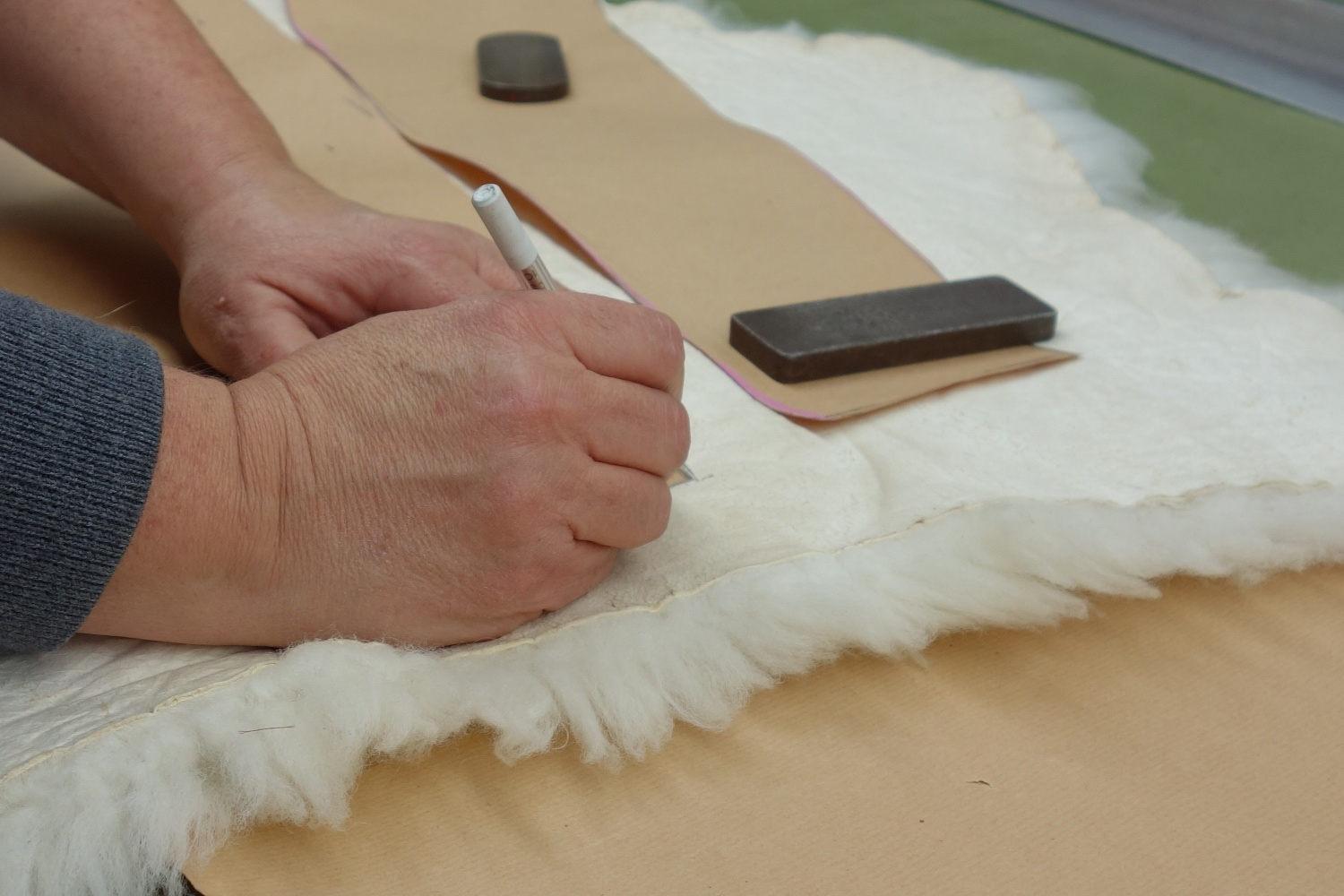 In our small but nice workshop we can fulfill all of your special wishes for your fur and leather garments.
