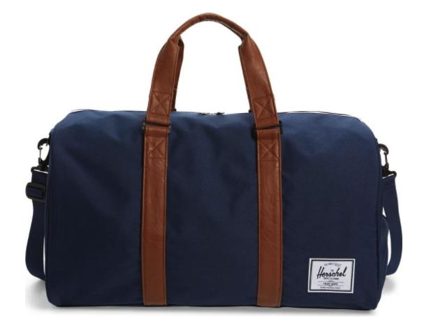 3. Hershel Duffel Bag - $85