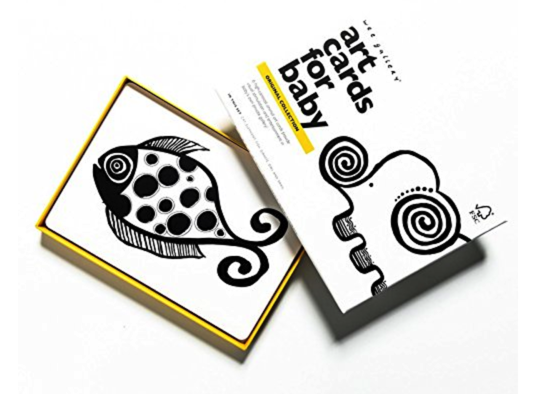 Wee Gallery Black and White Art Cards -
