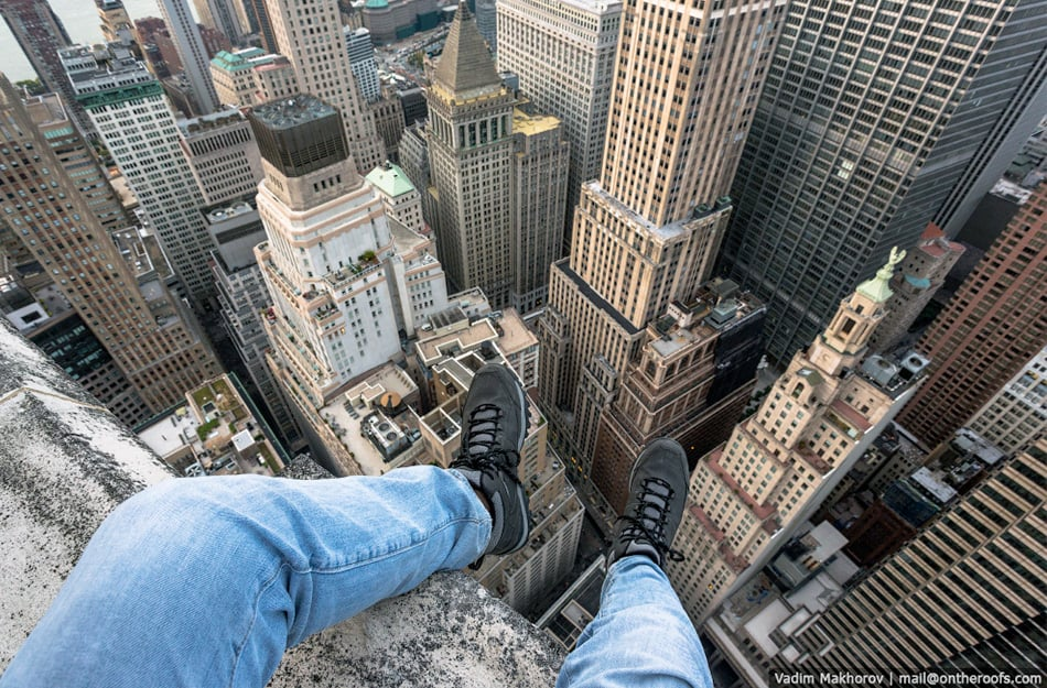 challenging fear of heights
