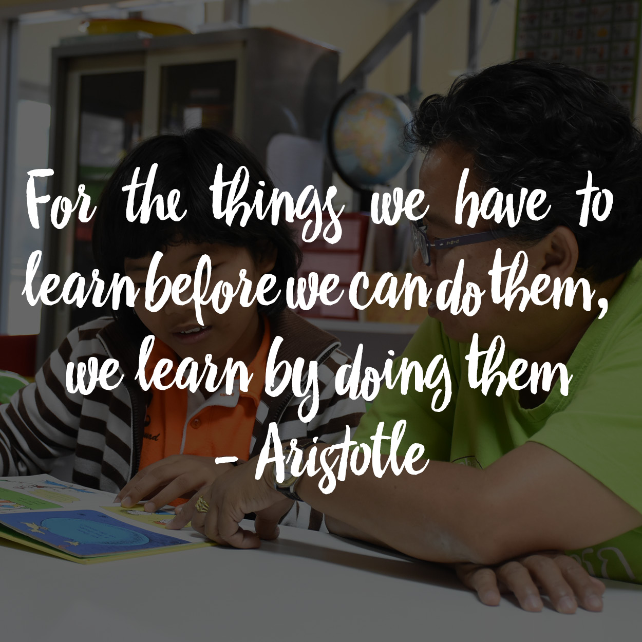 quote about learning by doing