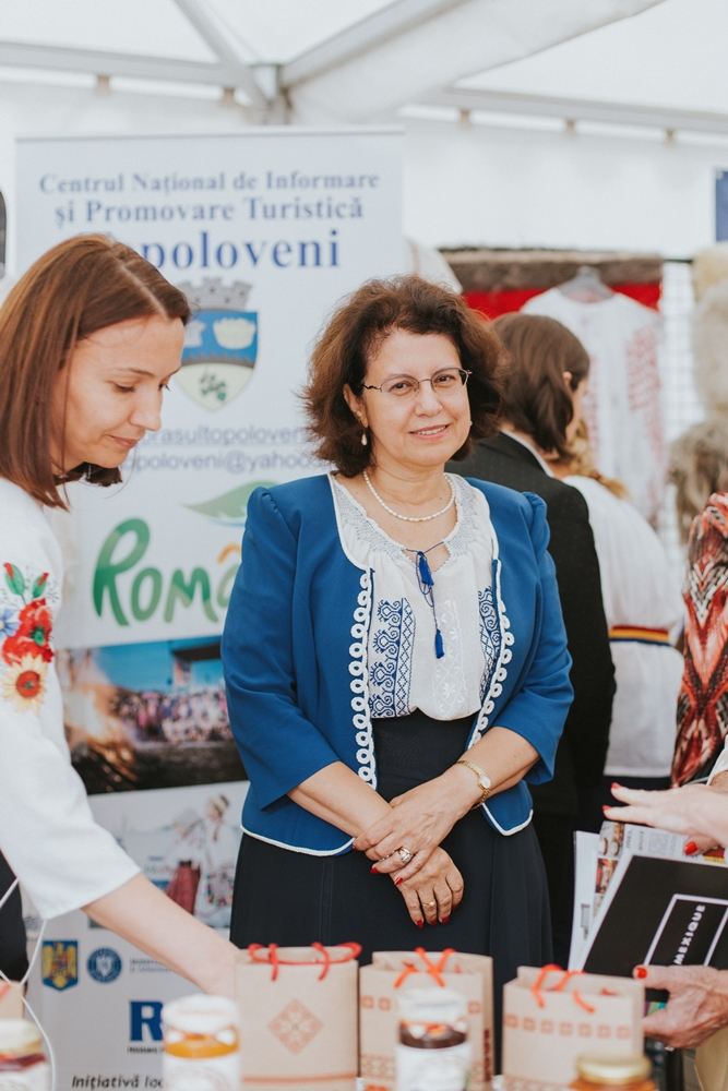Anca-Elena Opriș,the General Consul of Romania at Lyon