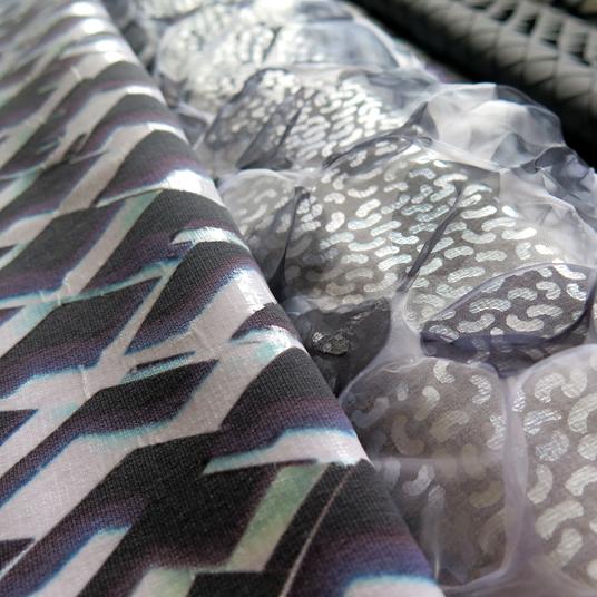 Textiles - digitalprint, foil print & heat treated polyester