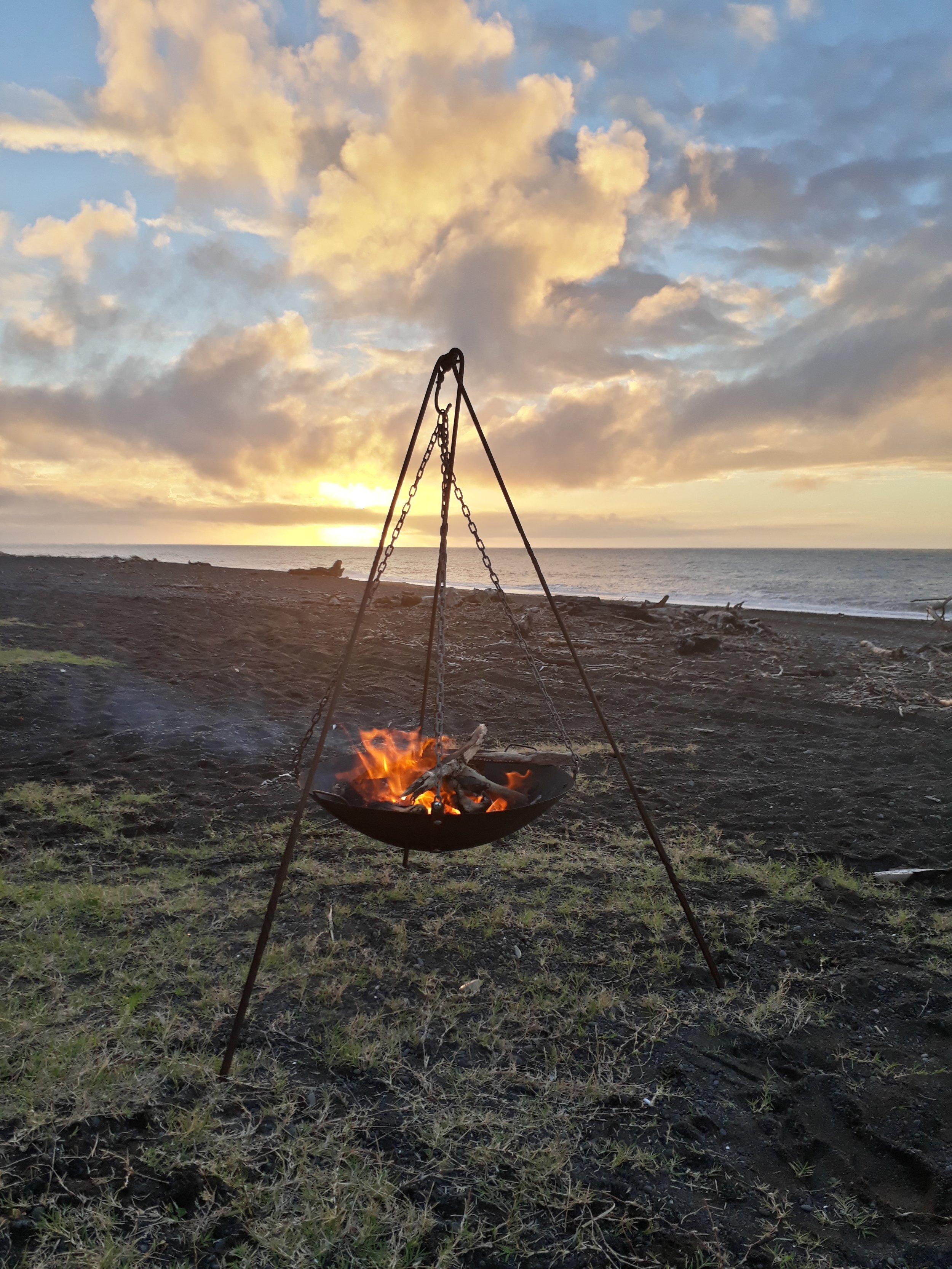 fire on beach gypsy iron.jpg