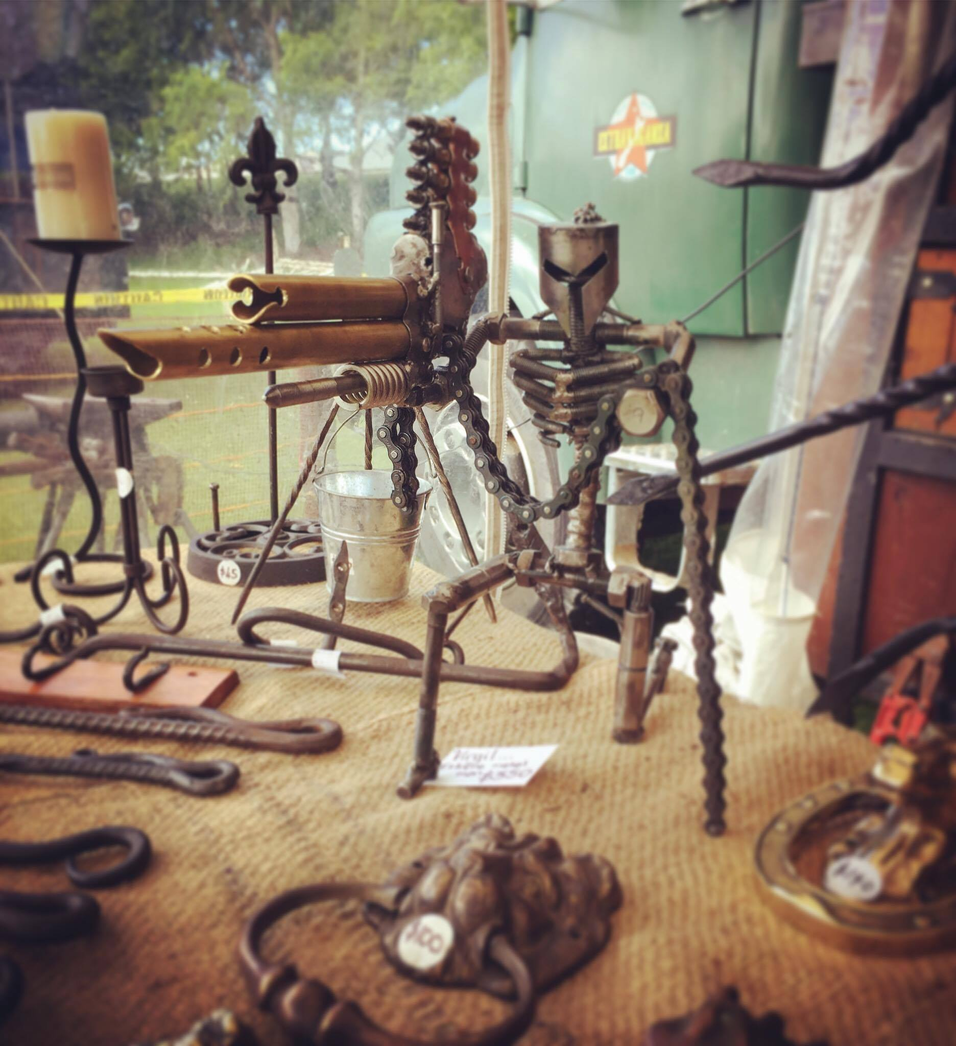 Handmade by our Resident Blacksmith - Thorny