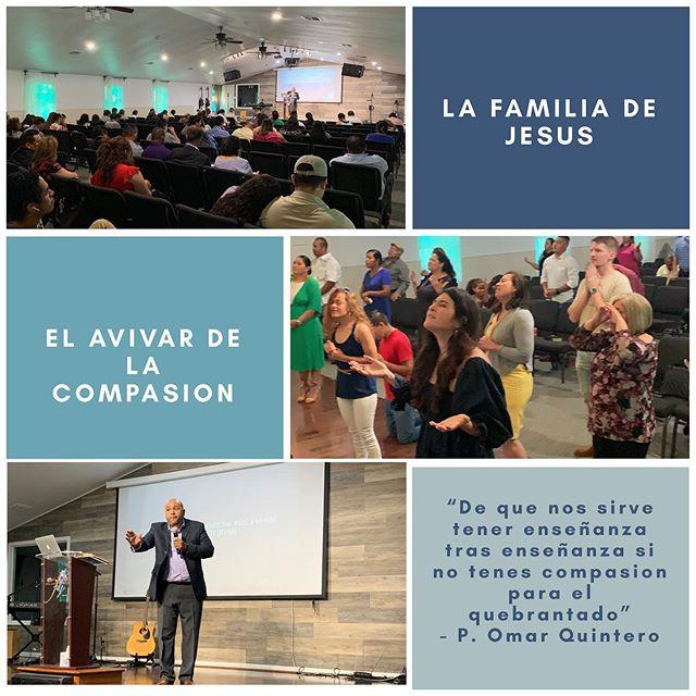 Nuestro pastor Omar Quintero nos compartió un tremendo mensaje acerca la compassion. Ve al link de nuestro bio para ver el mensaje completo.