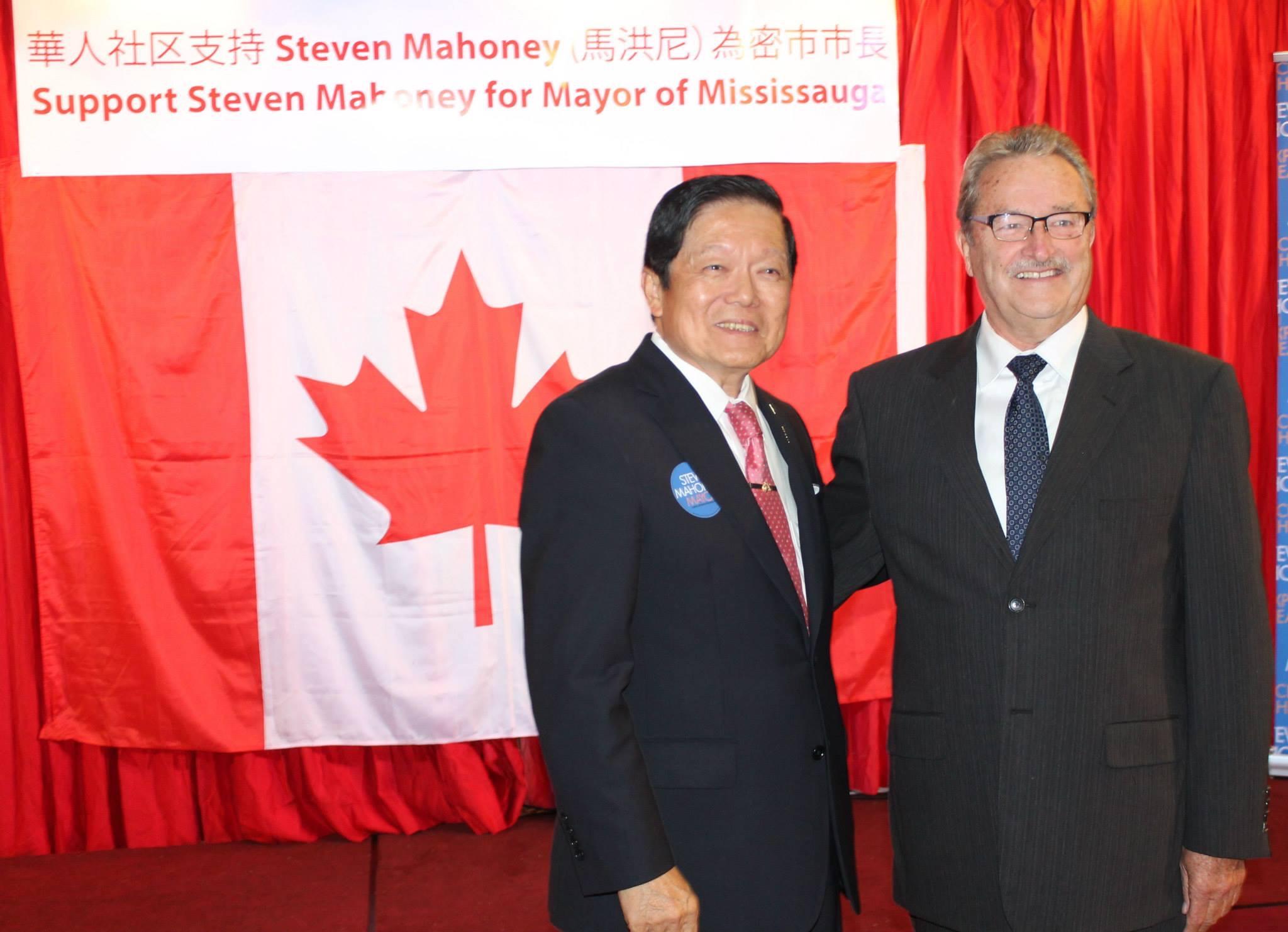 Greg with Senator Victor Oh