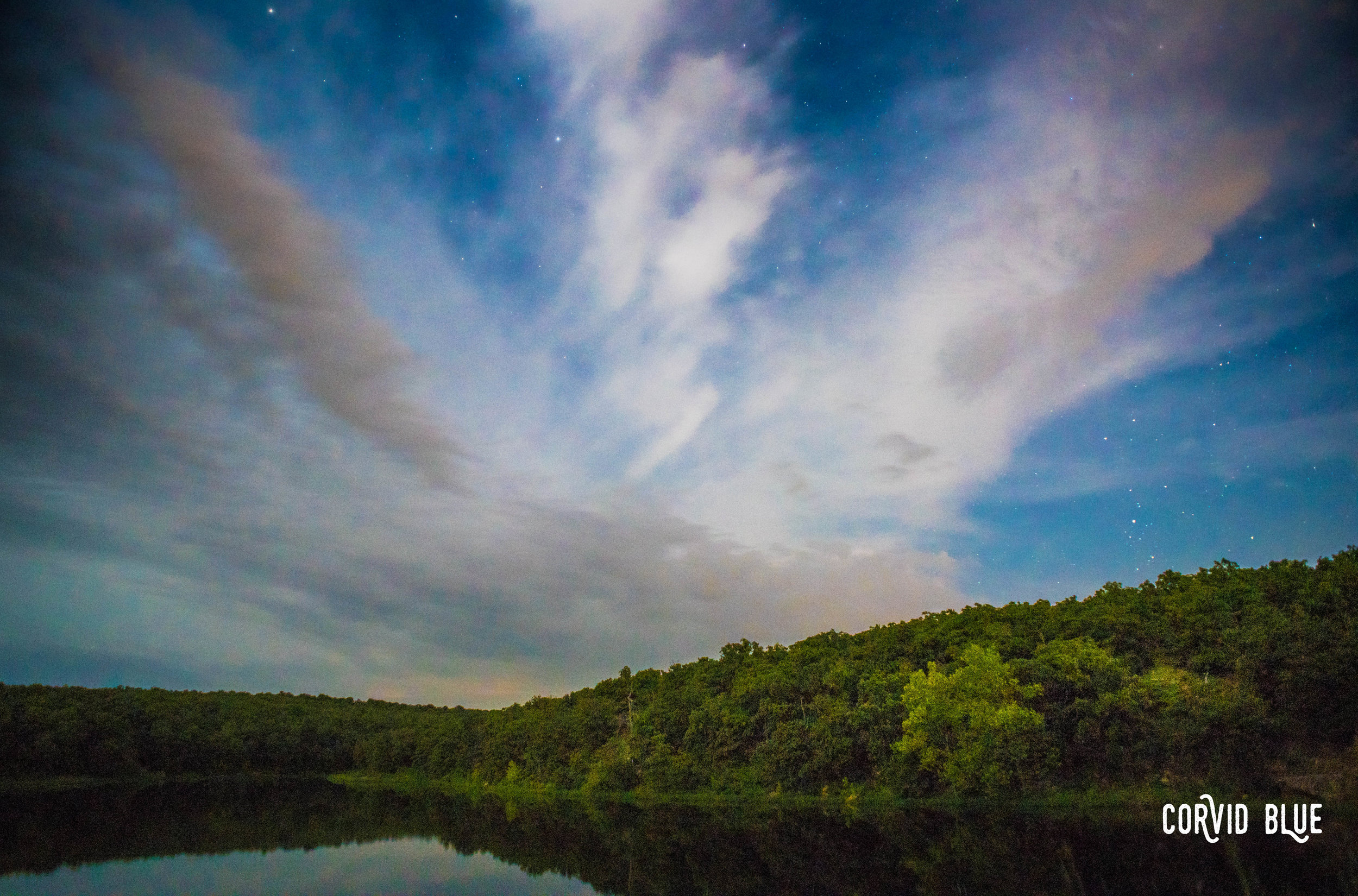 Lookout Lake, Osage Hills State Park, Oklahoma